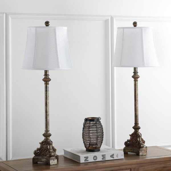 Rimini Console 33.5 Table Lamp (Set of 2) by Safavieh