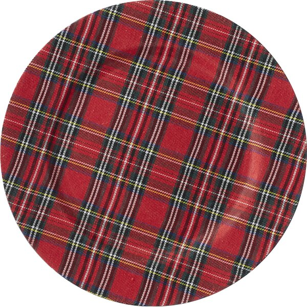 Tartan Plaid 13 Charger (Set of 4) by Mud Pie™