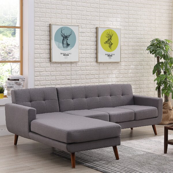 Review Barnet Mid Century Sofa & Chaise