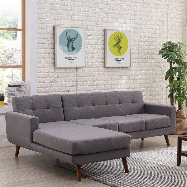 Sale Price Barnet Mid Century Sofa & Chaise