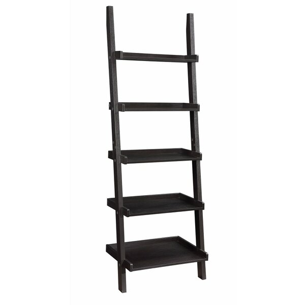 Holbert Sleek Wooden Ladder Bookcase by Winston Porter