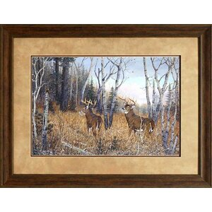 'Bow Hunter's Dream' Framed Graphic Art Print by Loon Peak