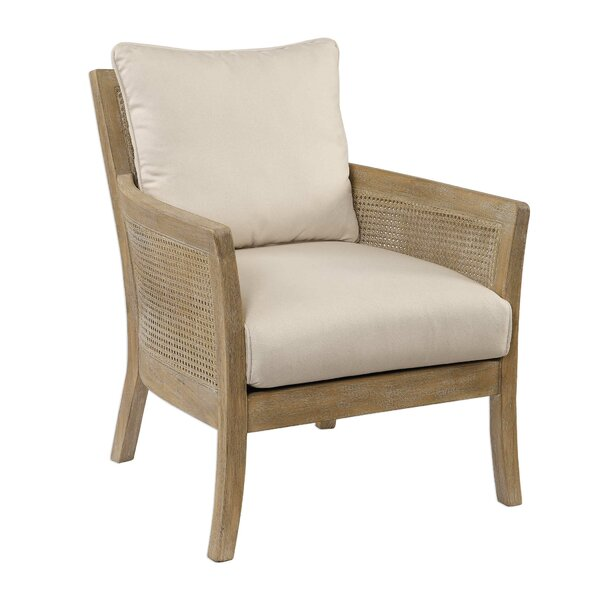 Parkton Natural Armchair by Bay Isle Home