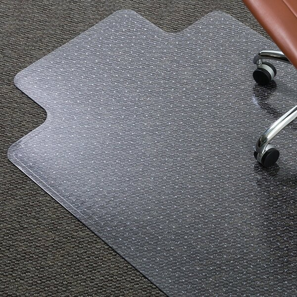 AnchorBar Medium Pile Carpet Beveled Edge Chair Mat by ES Robbins Corporation