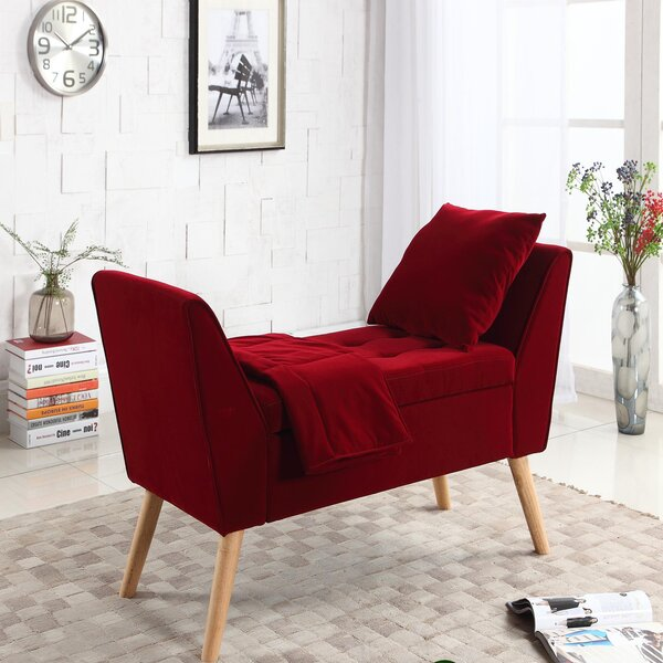 Viergeline 3 Piece Upholstered Flip top Bench by Langley Street? Langley Street�?�