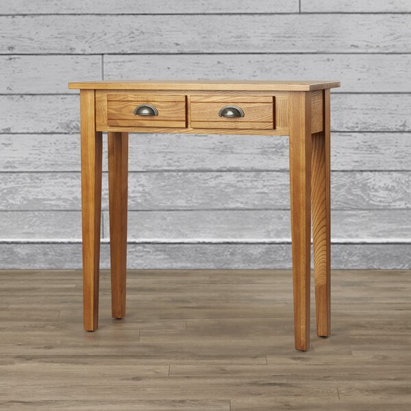 Review Wilfredo 2 Drawer Console Table