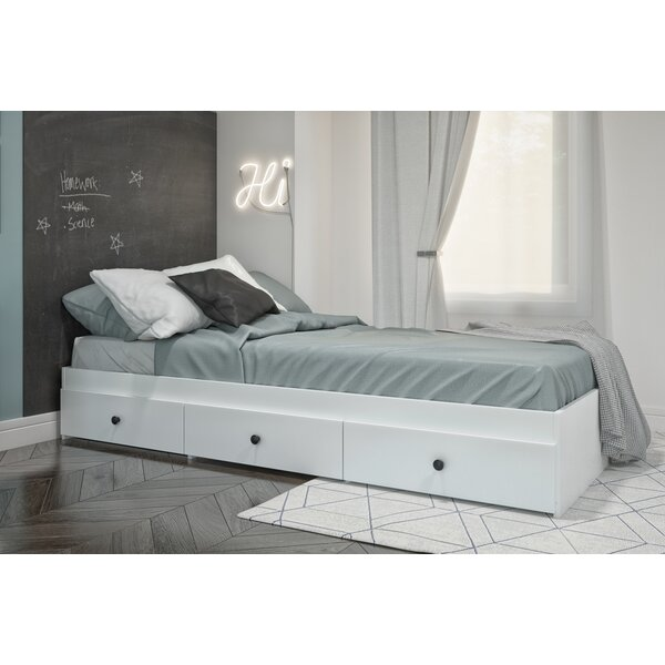 Cheneaux Platform Bed with Drawers by Ebern Designs
