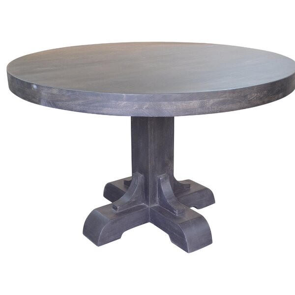 Funon Solid Wood Dining Table by Charlton Home