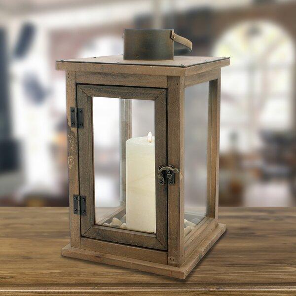 Wood Lantern by Laurel Foundry Modern Farmhouse