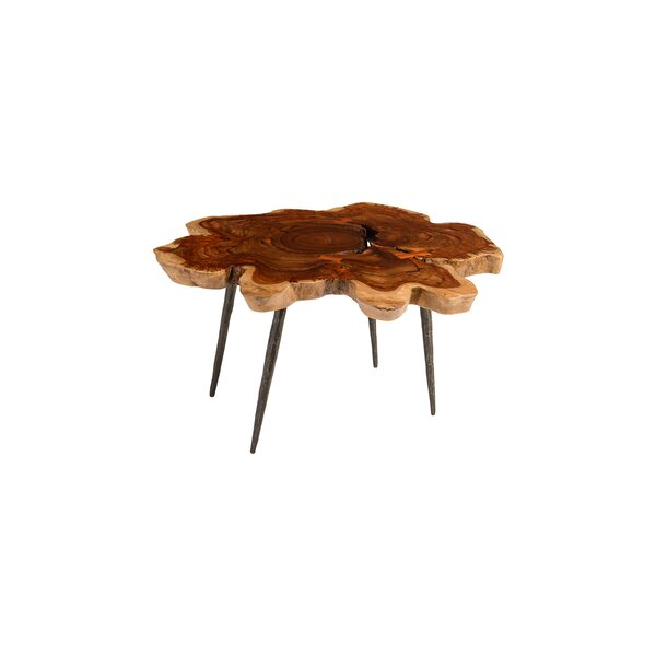 Makha Burled Wood Coffee Table