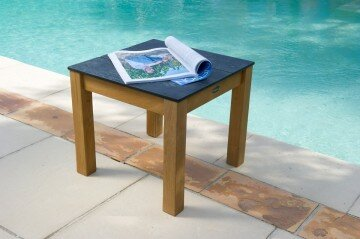 Valteck Teak Coffee Table by Les Jardins