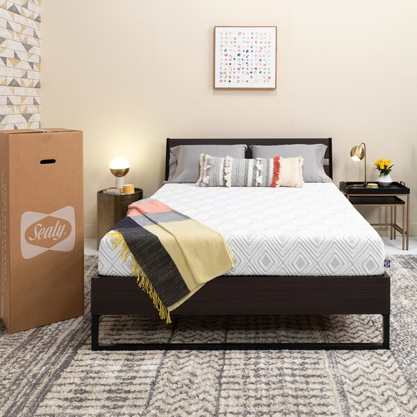 Sealy 8 inch Medium Memory Foam Mattress by Sealy