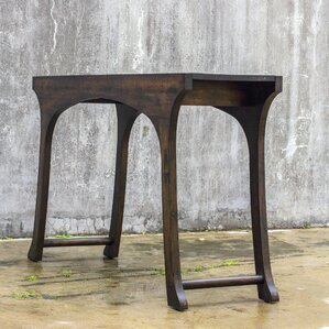 Everdeen Hickory Console Table by Bloomsbury Market