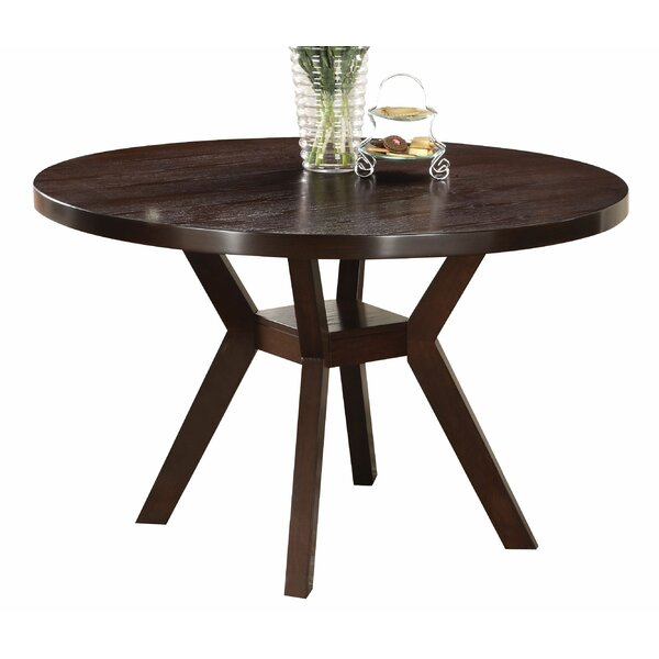Siegle Round Dining Table by Union Rustic Union Rustic