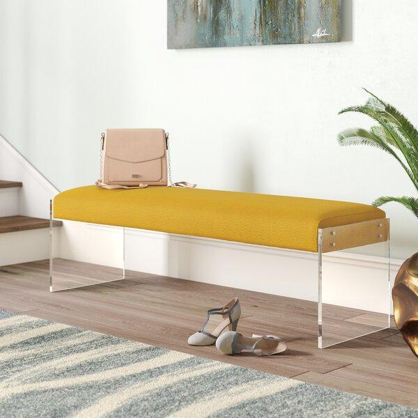 Kameron Pebbled Bench by Willa Arlo Interiors