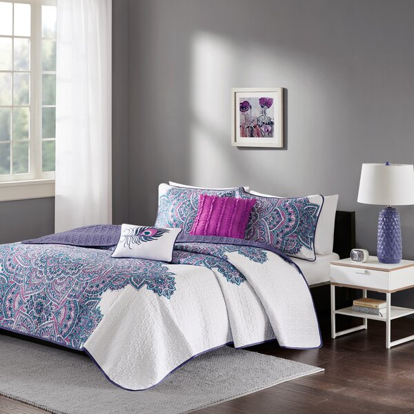Deeanna Coverlet Set by Bungalow Rose