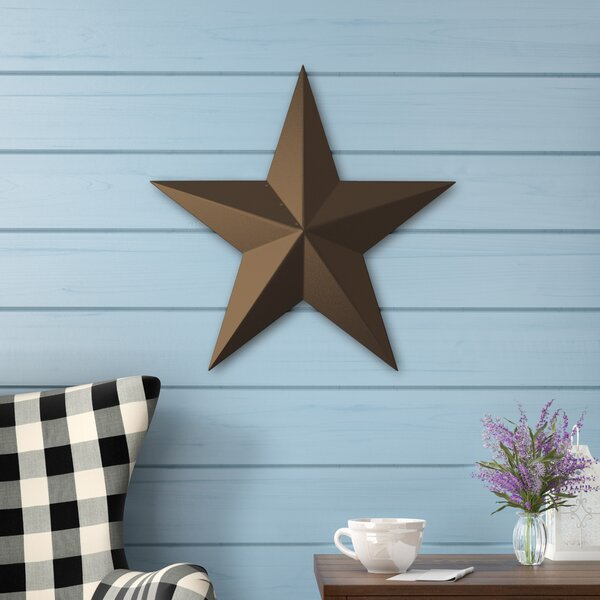 Rustic Brown Steel Wall D'cor by Laurel Foundry Modern Farmhouse