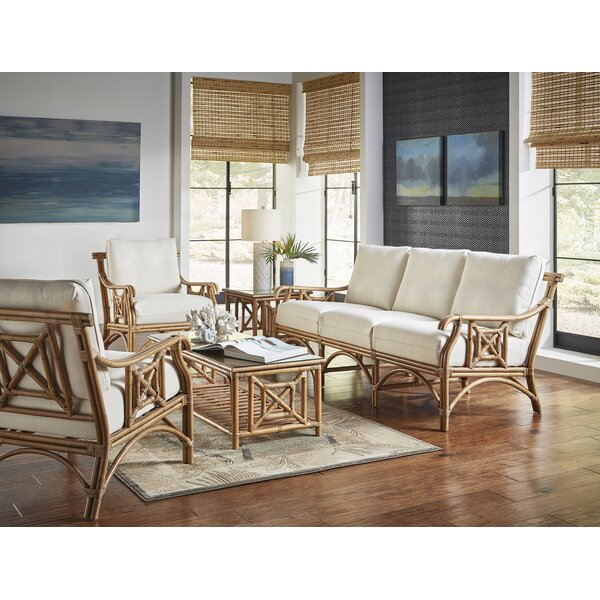 Plantation Bay 5 Piece Conservatory Living Room Set by Panama Jack Sunroom