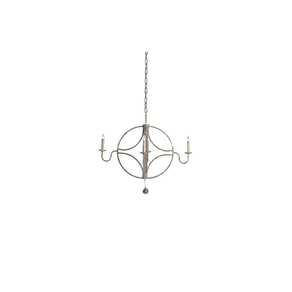 4 - Light Candle Style Classic / Traditional Chandelier By Gabby