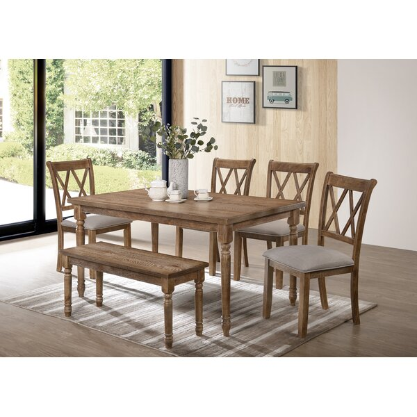 Bedlington 6 Piece Dining Set by Gracie Oaks