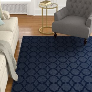 Southington Tufted Polypropylene Dark Blue Indoor Area Rug by Charlton Home