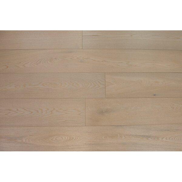 Bergen 7-1/2 Engineered Oak Hardwood Flooring in Ecru by Branton Flooring Collection