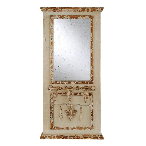 Knott with 3 Taper Holders Accent Mirror by Ophelia & Co.
