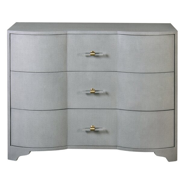 3 Drawer Dresser by Worlds Away