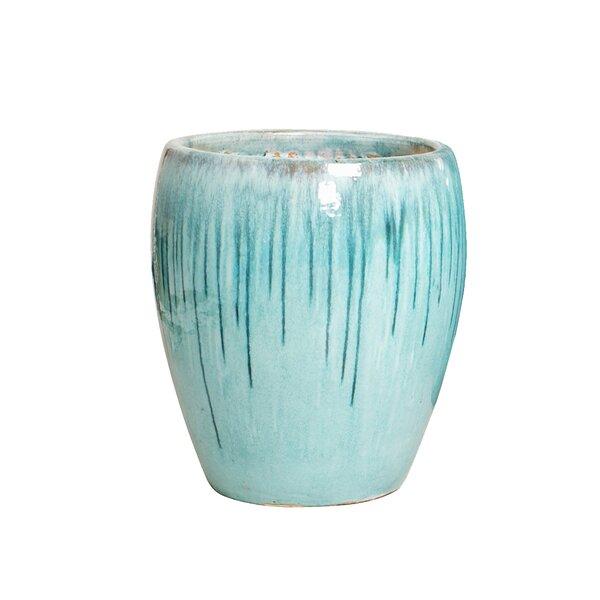 Hardnett Drip Glaze Ceramic Pot Planter by Highland Dunes
