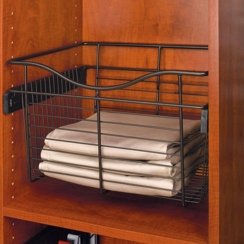 """Rev A Shelf 0 625 In H X 4 25 In W X 9 In D Oil Rubbed: Rev-A-Shelf Pull-Out 18""""W X 7""""H Drawer & Reviews"""