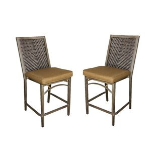 Ferebee Bar Stool (Set of 2) by Red Barrel Studio