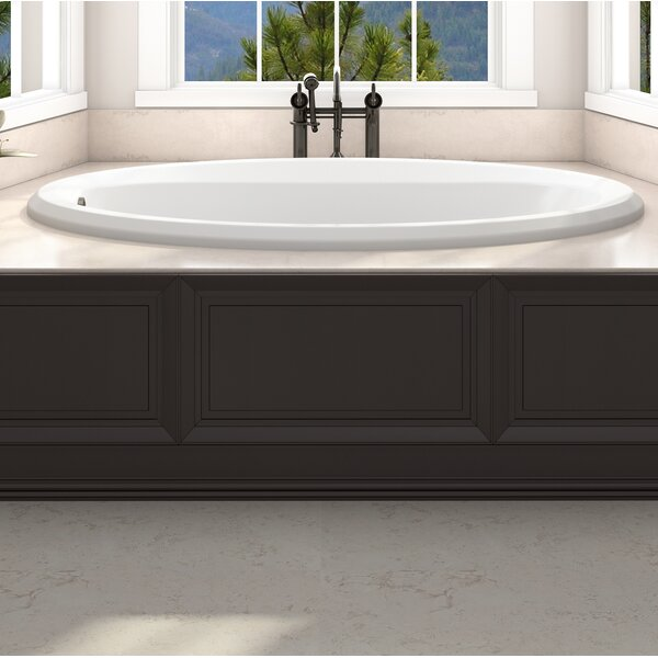Signature® 60 x 42 Drop In Whirlpool Bathtub by Jacuzzi®