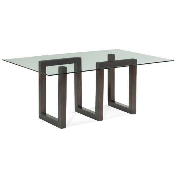 Reesa Solid Wood Dining Table by Orren Ellis