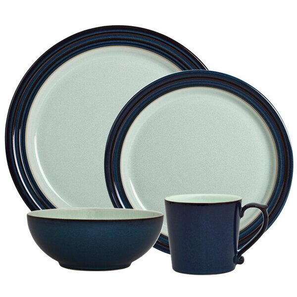 Peveril 4 Piece Place Setting, Service for 1 by Denby