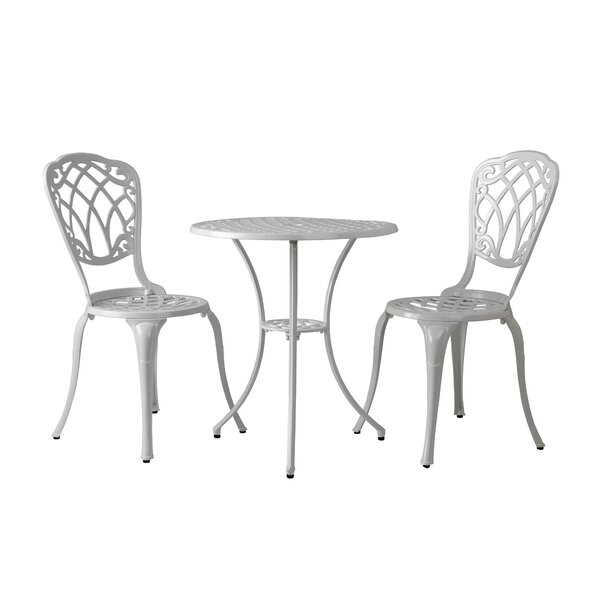 Patmos 3 Piece Bistro Set