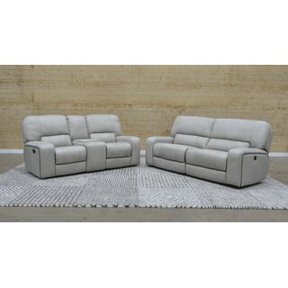 Aleverson Console Reclining Loveseat by Latitude Run SKU:AC244427 Reviews