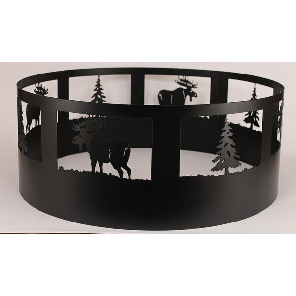 Moose Steel Charcoal Fire ring by Coast Lamp Mfg.
