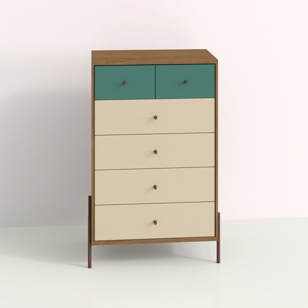 Alviso 6 Drawer Chest by Hashtag Home