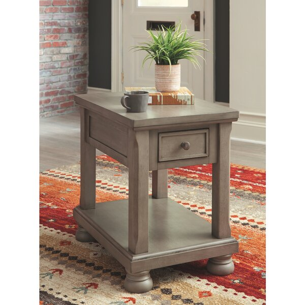 Fuente End Table With Storage By Alcott Hill