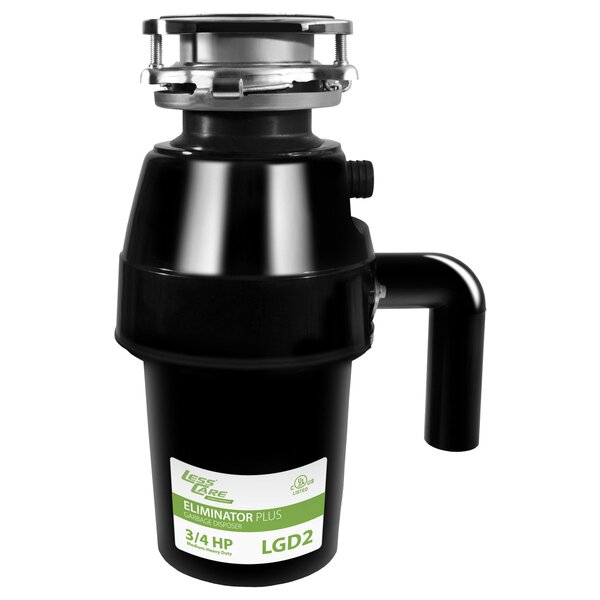 3/4 HP Continuous Feed Garbage Disposal by LessCare