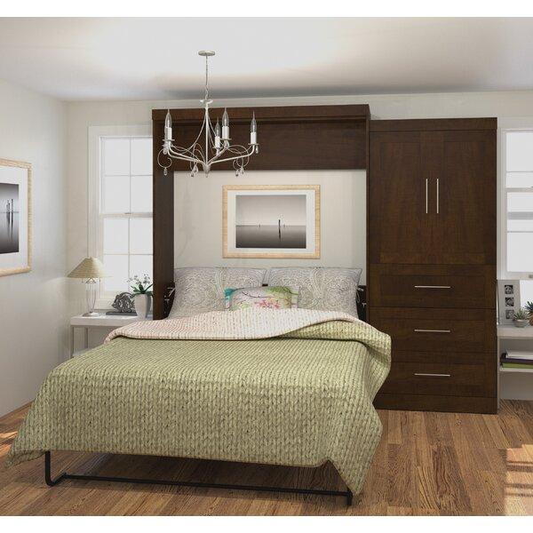 Eila Storage Murphy Bed by Beachcrest Home Beachcrest Home