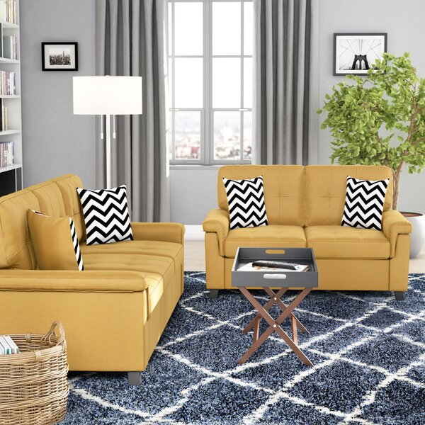 Mathias 2 Piece Standard Living Room Set by Winston Porter