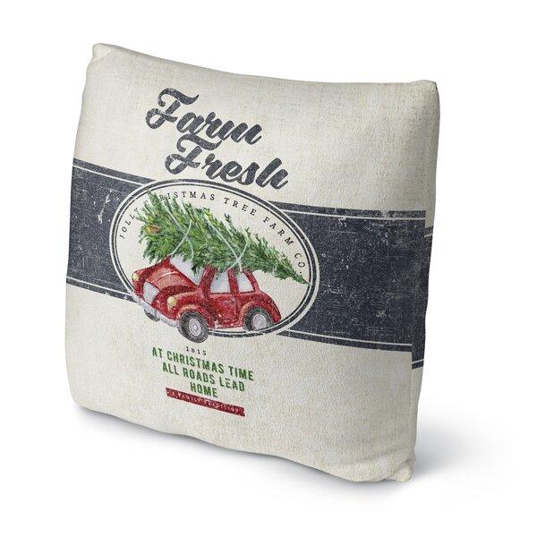 Darren Farm Fresh Outdoor Throw Pillow by Gracie Oaks