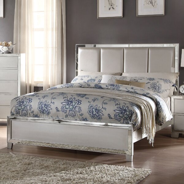 Hester Upholstered Standard Bed by Rosdorf Park