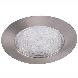 Affordable Line Voltage Shower 6 Recessed Trim (Set of 12) By Elegant Lighting