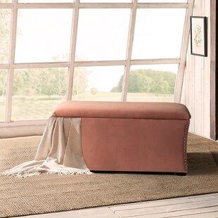 Minghui Upholstered Flip Top Storage Bench by Winston Porter