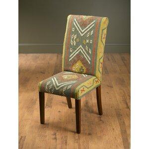 North La Junta Kilim Side Chair Bloomsbury Market
