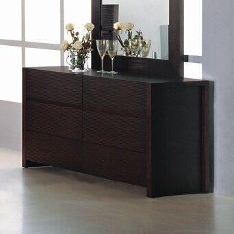 Metro 6 Drawer Double Dresser by Hokku Designs