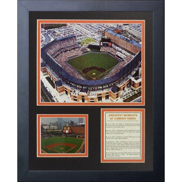 Baltimore Orioles Camden Yards Framed Memorabilia by Legends Never Die