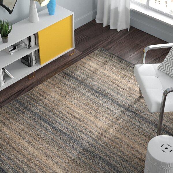 Sherri Grey Stripes Area Rug by Zipcode Design